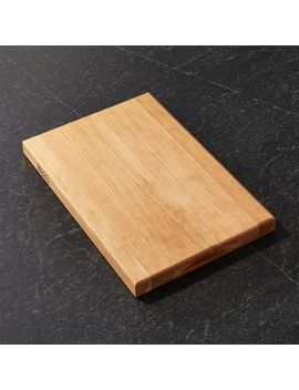 "John Boos 18""X12"" Reversible Cherry Cutting Board by Crate&Barrel"