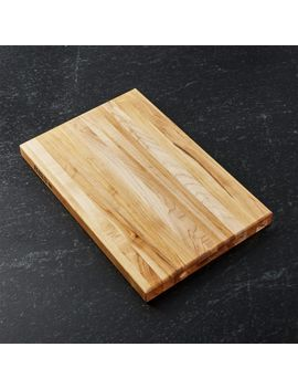 "John Boos 18""X13"" Maple Cutting Board by Crate&Barrel"