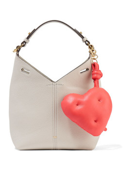 Chubby Leather Keychain by Anya Hindmarch