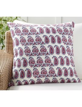 Ronnica Paisley Indoor/Outdoor Pillow by Pottery Barn