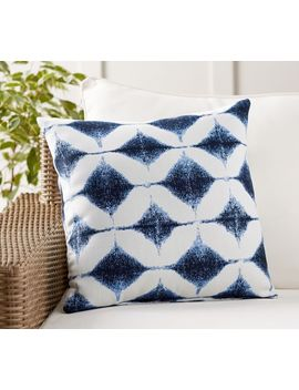 Sunbrella® Shelton Jacquard Indoor/Outdoor Pillow by Pottery Barn