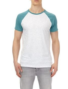 Burton   Jade Green And Frost Raglan T Shirt by Burton