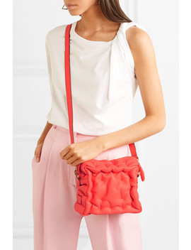 Chubby Cube Leather Shoulder Bag by Anya Hindmarch