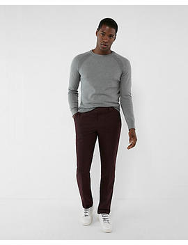Classic Burgundy Dress Pant by Express