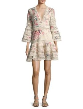 Laelia Floral Eyelet Dress by Zimmermann