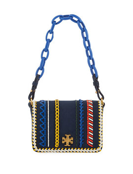 Kira Whipstitch Mini Shoulder Bag by Tory Burch