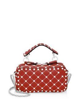 Studded Leather Crossbody Bag by Valentino Garavani