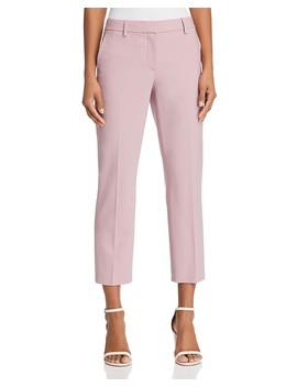 Treeca Stretch Wool Cropped Pants by Theory