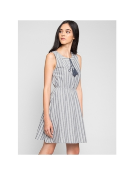 Capistrano Stripe Dress by Wet Seal