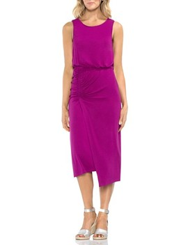 Ruched Midi Dress by Vince Camuto