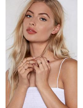 Ring It On 10 Ring Set by Nasty Gal
