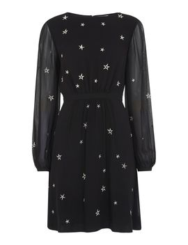 Aria Star Embroidered Dress by Whistles