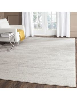 Safavieh Adirondack Vintage Ombre Ivory / Silver Rug (8' X 10') by Generic