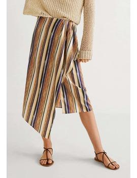 Mamba   Wrap Skirt by Mango