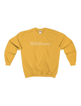 Wildflower Crewneck | Unisex  | Nature | Outdoor Clothing | Outdoor Gift | Travel | Travel Gift | Adventure | Flowers by Etsy