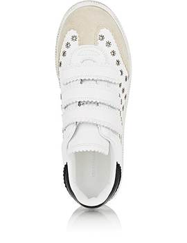 Beth Leather &Amp; Suede Sneakers by Isabel Marant