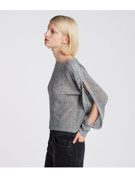 Elle Open Shoulder by Allsaints