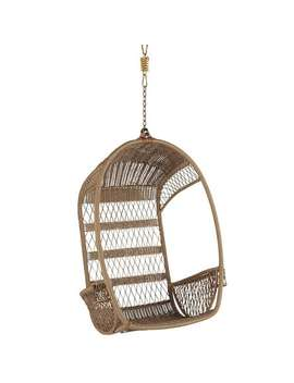 Light Brown Hanging Chair by Swingasan® Collection