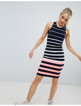 Superdry Stripe Bodycon Dress by Superdry