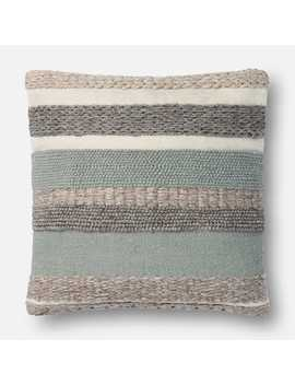 Magnolia Home Delphine Sage Pillow by Magnolia Home By Joanna Gaines Collection