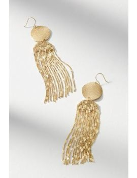 Golden Light Drop Earrings by Anthropologie