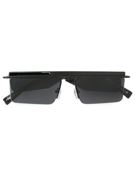 Le Specs X Adam Selman Square Frame Sunglasseshome Men Accessories Sunglasses by Le Specs