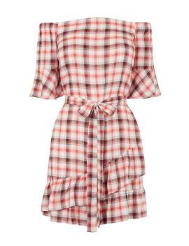 Check Bardot Dress by Oasis