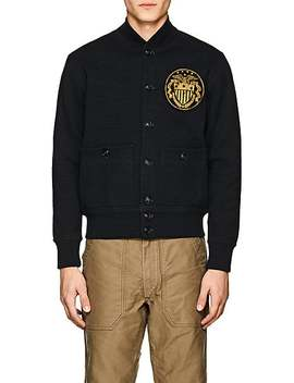 Compact Knit Cotton Bomber Jacket by Rrl