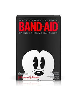Band Aid Brand Kids Adhesive Bandages Collector Series, Disney Mickey Mouse, Assorted Sizes, 20 Ct by Band Aid