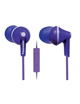 Panasonic Ergo Fit Rp Tcm125 V In Ear Earbuds Headphones With Mic/Controller   Purple by Panasonic