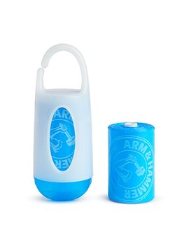 Munchkin Arm & Hammer Diaper Bag Dispenser With Bags, Lavender Scent, Colors May Vary 1 Ea by Munchkin