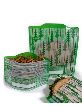 Forest Reusable Snack &Amp; Sandwich Bag Set by Russbe