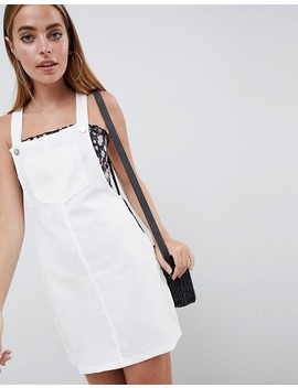 Missguided Petite Cord Dungaree Dress by Missguided Petite