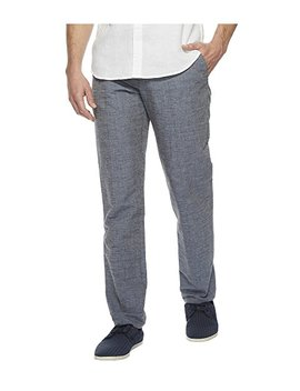 Slim Fit End On End Linen Suit Pant by Perry Ellis
