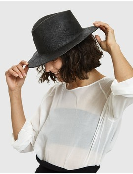 Shade Hat In Black by Need Supply Co.