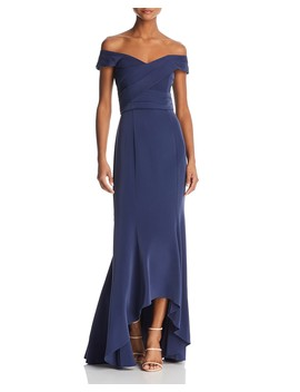 Off The Shoulder Gown by Laundry By Shelli Segal