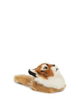 Plush Animal Faux Fur Slipper by Jeffrey Campbell