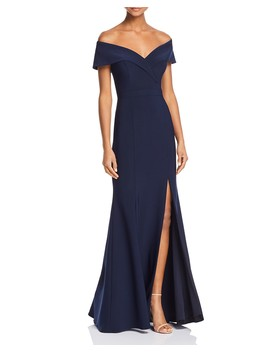 Off The Shoulder Gown   100 Percents Exclusive by Aqua
