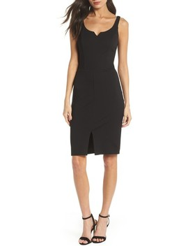 Rose All Day Ponte Sheath Dress by Ali & Jay