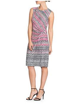 Spiced Up Twist Knee Length Dress by Nic+Zoe