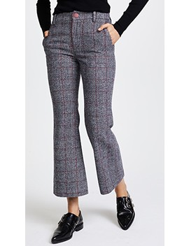 Cropped Annie Trousers by Laveer