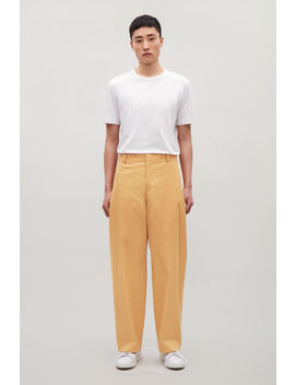 Relaxed Wide Leg Trousers by Cos