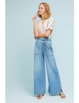 Pilcro High Rise Wide Leg Jeans by Pilcro And The Letterpress