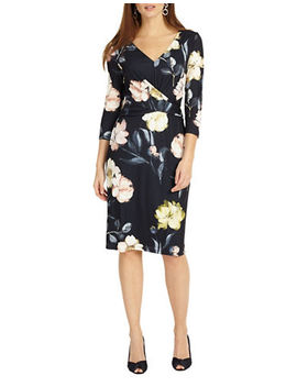 Marina Floral Jersey Dress by Phase Eight