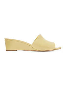 Tilly Patent Leather Wedge Sandals by Loeffler Randall