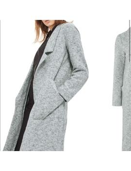 Topshop Brushback Jersey Grey CoatNwt by Topshop