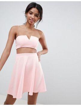 Asos Design Co Ord Mini Skater Dress by Asos Design