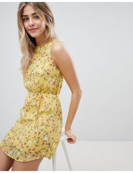 Emory Park Sleeveless Sun Dress In Vintage Floral by Emory Park