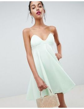 Asos Design Cami Babydoll Swing Mini Dress by Asos Design