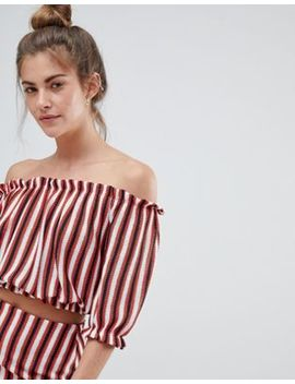 Pull&Bear Stripe Top With Matching Skirt In Multi by Pull&Bear